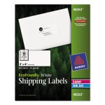 Avery EcoFriendly Laser/Inkjet Shipping Labels, 2 x 4, 250 Labels (AVE48263)