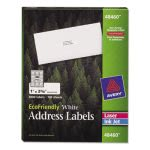 Avery EcoFriendly Labels, 1 x 2-5/8, White, 3000/Pack (AVE48460)