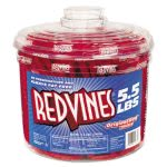 Red Vines Original Red Twists, 5.5 lb Tub, 1 Each (RDV827495)