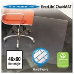 ES Robbins 46x60 Rectangle Chair Mat, Multi-Task Series for Hard Floors, Heavier Use (ESR132321)