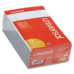 Universal Colored Perforated Note Pads, 5 x 8, Blue, 12 Pads (UNV35850)