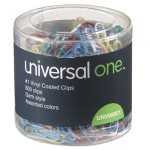 universal-paper-clips-vinyl-coated-wire-no-1-assorted-500pack-unv95001