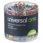 universal-paper-clips-vinyl-wire-jumbo-assorted-colors-250pack-unv95000