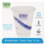 Recycled Content Plastic Cold Drink Cups, 12 oz., Clear, 1000/Carton (ECOEPCR12)