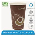 Eco-products Hot Drink Cups, 16 oz., Purple, 1000 per Carton (ECOEPBRHC16EW)