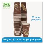 Eco-Products 16-oz. Hot Drink Cups, Purple, 50 Cups (ECOEPBRHC16EWPK)