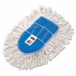 Rubbermaid Trapper Wedge Dust Mop Head, White, Cut-End, Cotton (RCPU130)
