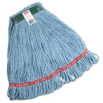 rubbermaid-c112-swinger-loop-wet-mop-heads-blue-medium-6-mops-rcpc112blu