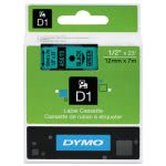 tape-cartridge-for-dymo-label-makers-12-x-23-black-on-green-dym45019