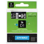 tape-cartridge-for-dymo-label-makers-12-x-23-white-on-black-dym45021