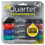 quartet-enduraglide-dry-erase-markers-chisel-tip-assorted-colors-4set-qrt5001m