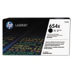 HP 654X, (CF330X) High Yield Black Original LaserJet Toner Cartridge (HEWCF330X)