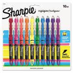 sharpie-liquid-pen-highlighter-chisel-tip-assorted-10-per-set-san24415pp