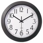 universal-one-whisper-quiet-clock-12-black-each-unv10451