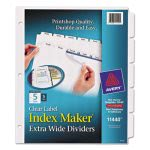 avery-index-maker-clear-label-dividers-5-tab-11-14-x-9-14-5-sets-ave11440