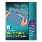 avery-index-maker-clear-label-punched-dividers-multicolor-5-tab-ave11452