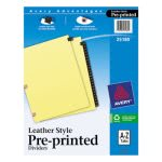 avery-copper-reinforced-leather-tab-dividers-25-tab-a-z-letter-black-25set-ave25180