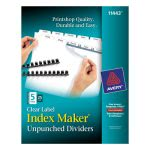 avery-index-maker-label-unpunched-divider-5-tab-white-25-sets-ave11443