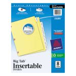 avery-big-tab-dividers-wcopper-holes-clear-8-tab-letter-buff-ave23285
