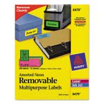 avery-removable-self-adhesive-color-coding-labels-1-x-2-58-assorted-neon-360pack-ave6479