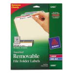avery-removable-filing-labels-for-inkjetlaser-23-x-3-716-assorted-750pack-ave6466