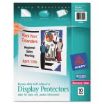 Avery Top-Load Display Sheet Protectors, Letter, 10/Pack (AVE74404)