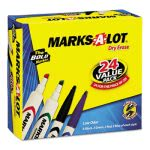 marks-a-lot-desk-style-dry-erase-markers-chisel-tip-assorted-24pk-ave29870