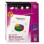 avery-poly-sheet-protectors-super-heavy-nonglare-200-per-box-ave74401