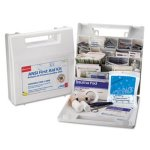 First Aid Kit for 50 People, 195 Pieces, OSHA/ANSI Compliant (FAO225AN)