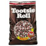 Tootsie Roll Midgees, Original, Chocolate, 5 lb Bag, Each (TOO884580)