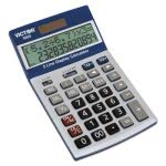 Victor 9800 2-Line Easy Check Display Calculator, 12-Digit, LCD (VCT9800)