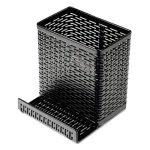 urban-collection-punched-metal-black-pencil-cup-cell-phone-stand-aopart20014