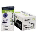 "Universal Multipurpose Paper, 8 1/2"" x 11"", White, 5000 Sheets (UNV95200)"