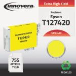 innovera-27420-compatible-reman-t127420-t-127-ink-yellow-ivr27420