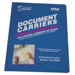 "Iconex Document Carrier, 8 1/2"" x 11"", Clear, 10 Document Carriers (ICX94180304)"