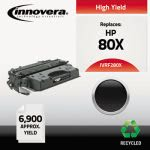 Innovera Remanufactured CF280X (80X) High-Yield Toner, 6900 Page, Blk (IVRF280X)