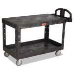 rubbermaid-4545-heavy-duty-2-shelf-utility-cart-large-black-rcp4545bla