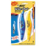 "Bic Wite-Out Exact Liner Correction Tape Pen, 1/5"" x 236"", 2/Pack (BICWOELP21)"