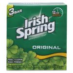 Irish Spring Bar Soap, Clean Fresh Scent, 3.75oz, 18/Carton (CPC14177)