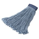 rubbermaid-f558-cut-end-24-oz-wet-mop-heads-blue-12-mops-rcpf558blu