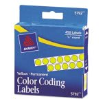avery-self-adhesive-color-coding-labels-yellow-450-per-pack-ave05792