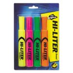 fluorescent-highlighters-yelloworangegreenpink-4-per-set-ave24063