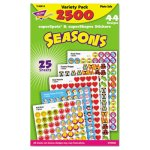 Trend SuperSpots and SuperShapes Seasons Sticker Pack, 2500 Stickers (TEPT46914)