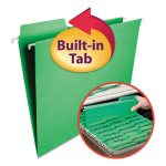 smead-fastab-hanging-file-folders-letter-green-20-box-smd64098