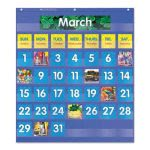 scholastic-monthly-calendar-pocket-chart-255x10x013-blue-clear-shs511479