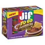 Smucker's Jif To Go, Creamy Chocolate Silk, 1.5 oz Cup, 8/Box (SMU24112)