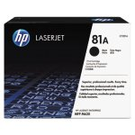 HP 81A, (CF281A) Black Original LaserJet Toner Cartridge (HEWCF281A)