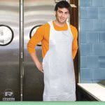 Royal Poly Apron, White, 28 x 46, 100/Pack, 10 Pack/Carton (RPPDA2846)
