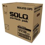 Solo Design Foam Hot/Cold Drink Cups, 10 oz., 300/Carton (SCCOFX10NJ802CT)