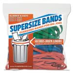 Alliance SuperSize Rubber Bands, Assorted Colors, 24 Rubber Bands (ALL08997)
